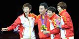 伦敦奥运会,乒乓球女团夺冠