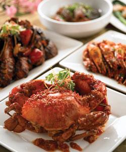 北京的肥美鲜蟹 港澳中心瑞士酒店奢华美味