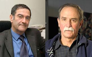人物 阿罗什/人物简介:(左)塞尔日·阿罗什,1944出生,68岁,法国物理...