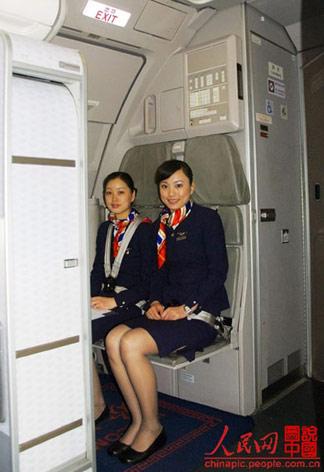 你是否曾在飞机起飞后换过座位?