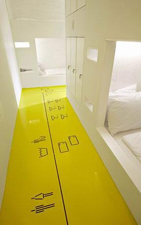 克罗地亚黄色旅馆 华丽与简约的混血