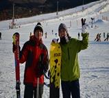 渔阳国际滑雪场雪友