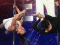 宋瑶刘岩表演唯美钢管舞渴望走入奥运赛场