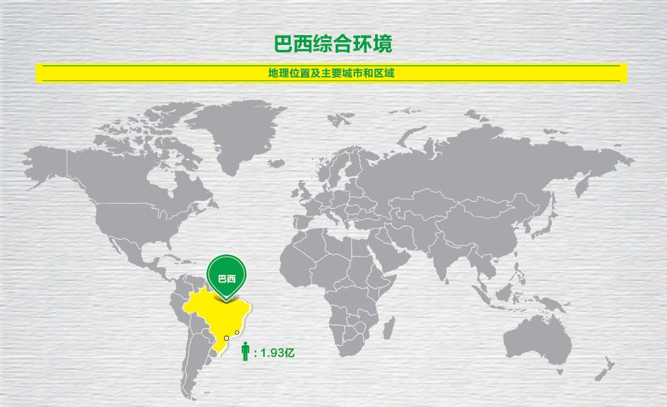 巴西地理位置