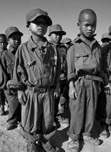 缅甸佤邦悲惨童子军生活