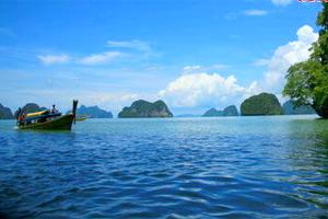 泰国普吉岛的碧海假期