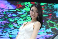 2013重庆车展美女车模