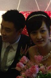 王皓接到新娘