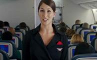 乘坐飞机安全常识演示