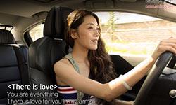 美女教你校园安全驾驶