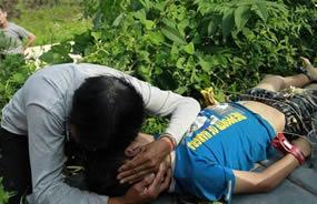 随父到工地玩耍青岛13岁孩子水库被淹死