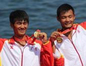 2000米双人双桨刘治宇张全夺冠