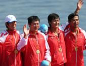 2000米四人单桨无舵手山东夺冠