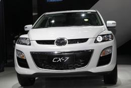 车展实拍 国产马自达CX-7