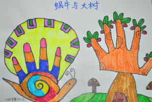 蜗牛与大树