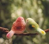 羊毛毡小鸟