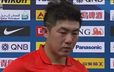 赛后采访崔鹏:准备很充分 球队战斗精神还在