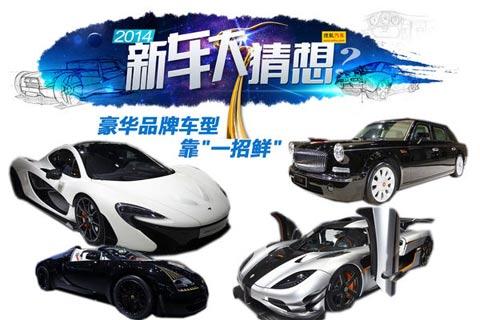 2014新车大猜想:豪华品牌新车或超百余款