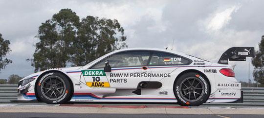 仅3秒即可破百 宝马M4 DTM赛车全面解析!