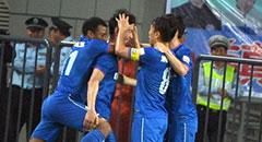 李吉翔推射获联赛首球 舜天1-0阿尔滨