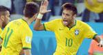 内马尔两球巴西3-1逆转