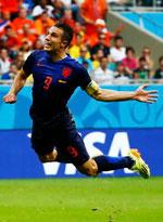 西班牙1-5荷兰