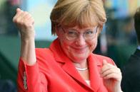 趣味图:德国总理卖萌