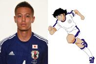 日本队员vs《足球小将》