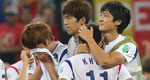 韩国出局球员抱头痛哭