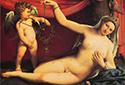 世界名画中的裸奔维纳斯