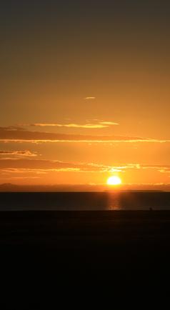青海湖的美丽日出