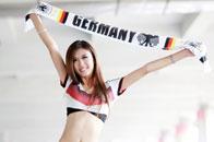 足球宝贝钟情德国