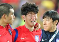 韩国痛失冠军众将相拥而泣