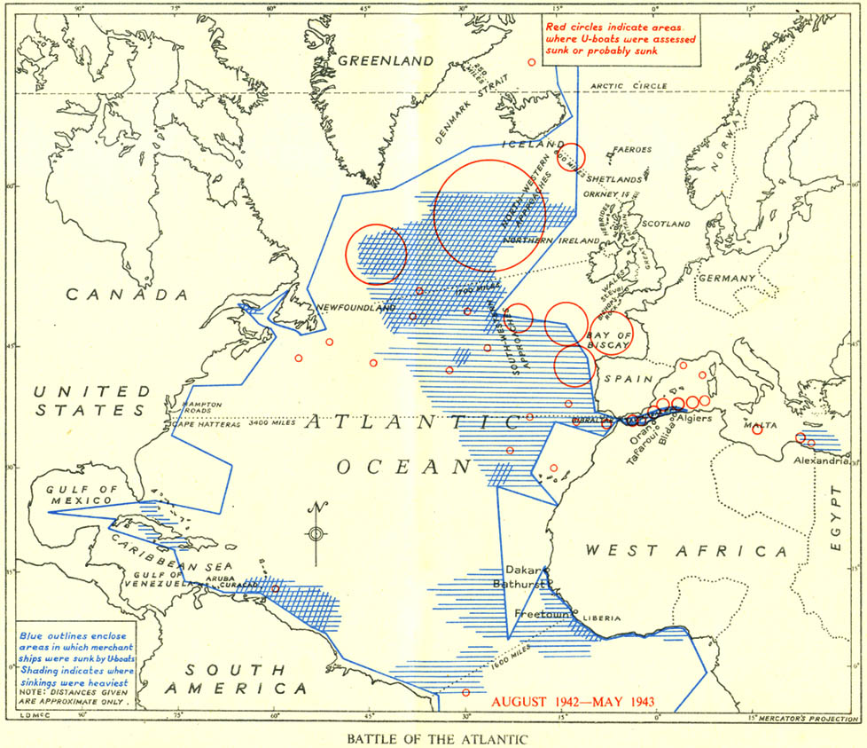 the battle of the atlantic The battle of the atlantic was the longest continuous military campaign in world war ii, running from 1939 to the defeat of germany in 1945.