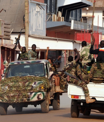 中非共和国内战