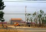 北京阳坊镇阅兵村紧张训练