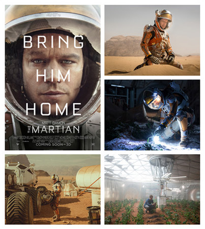 殿堂级导演雷德利-斯科特的《火星救援》将在多伦多首映