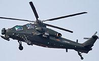武直-10武装直升机