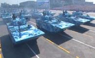 05A式两栖突击车方队