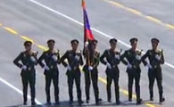 老挝代表团方队