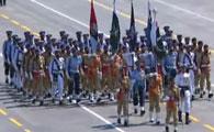 巴基斯坦代表团方队