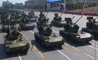 新型双35野战高炮方队
