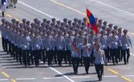 蒙古代表团方队