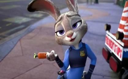 《疯狂动物城》被曝与中国作家张一一《兔子爱萝卜》剧本14处雷同