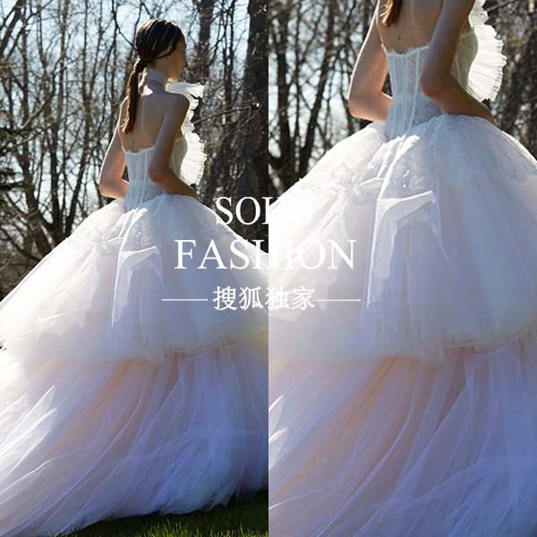 穿上这几件婚纱 看谁还敢抢你最美新娘的风头