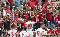 阿尔巴尼亚0-1瑞士