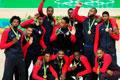 美国男篮轻取对手成功卫冕