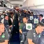 巴西球员所乘飞机坠毁