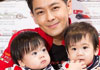 林志颖双胞胎儿子1岁抓周
