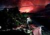福建泉港一架直升机坠落爆炸
